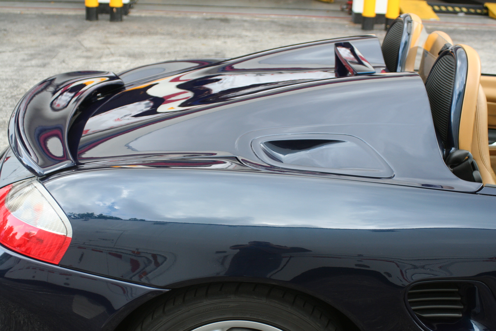 Porsche Boxster 986 To 987 Spyder Conversion Fiberglass